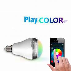 Medion Audio Led Light Bulb Speaker Playbulb Smart Led Bulb Light Wireless Bluetooth Speaker