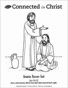 Day 5 Story Ananias Restores Saul Downloadable Vbs