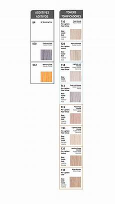 Wella Toner Chart Wella Color Charm Toners Chart Several Of These Toners