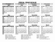 2020 Fiscal Year Calendar 2019 2020 Fiscal Calendar Uk Template Free Printable