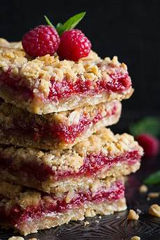 desserts raspberry raspberry crumb bars cooking