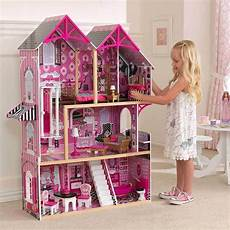 Barbie Doll House With Lights Kidkraft Couture Wooden Kids Dollhouse Dolls House