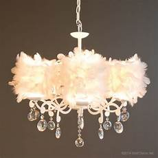 Feather Light Furniture Couture Feathered Chandelier