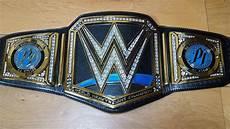 Design A Wwe Belt Online New Blue Smackdown Wwe World Championship Modified Replica