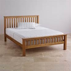 original rustic king size bed in solid oak oak furniture