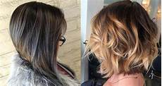 chice frisuren halblang the best 50 balayage bob hairstyles