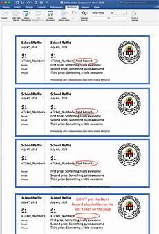Raffle Ticket Fundraiser Ideas Create Printable Raffle Tickets In Word Raffle Tickets