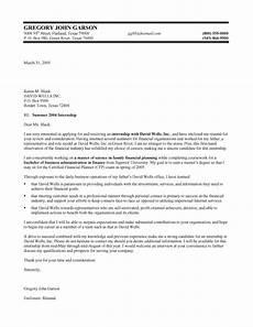 Cover Letter For Finance Internship Finance Internship Cover Letter Samples Templates