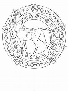 Malvorlagen Mandala Einhorn Ausmalbilder Pferde Mandala Ausmalbilder Einhorn Zum