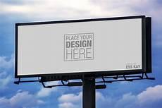 Billboard Design Template 4 Free Outdoor Advertisement Hoarding Billboard Mockup Psd