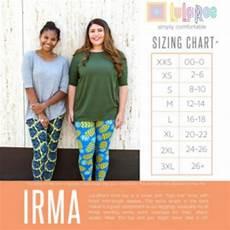 Sizing Chart For Lularoe Irma 47 Off Lularoe Tops Lularoe 2x Irma Tunic In Blue Gray