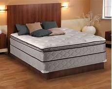 pillowtop king size mattress and box set ebay