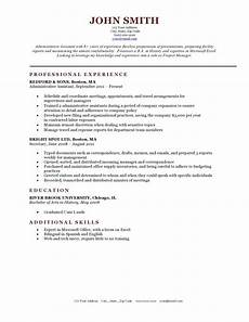 eresume template expert preferred resume templates resume genius