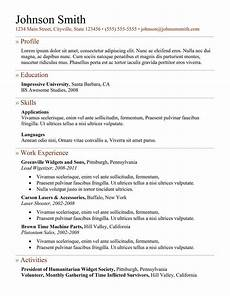 Professional Resume Samples Free 7 Samples Of How To Make A Professional Resume Examples
