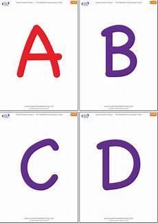 Letter Flashcards Uppercase Alphabet Flashcards Super Simple