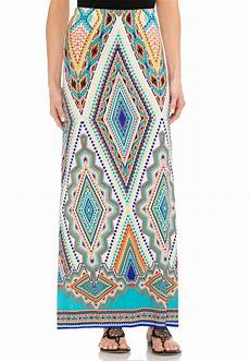 Aztec Design Skirts Diamond Design Aztec Maxi Skirt Skirts Cato Fashions