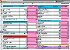 How To Make A Budget Sheet On Excel Pin By Tankersley On Organizing My Life Budget