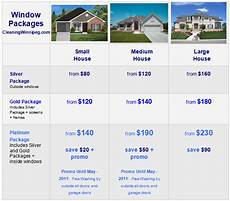 Merry House Cleaning Prices House Cleaning Cost Residential Window Packages