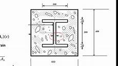 Composite Column Design Question 1 Stresses In A Composite Column Youtube