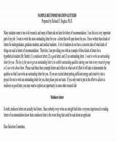 Sample Medical School Recommendation Letter Free 9 Sample Physician Letter Of Recommendation In Pdf
