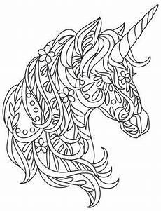 Malvorlagen Mandala Einhorn Einhorn Zentarge Malerei Licorne Coloriage Coloriage