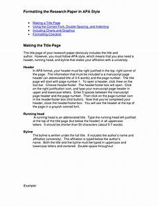 Apa Research Paper Layout Research Paper Format Apa Example Welcome To The Purdue Owl