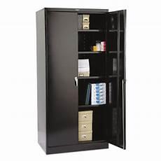 tennsco 2470bk 36 quot x 24 quot x 78 quot black high deluxe storage