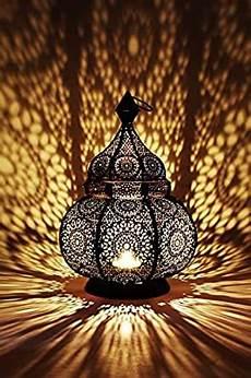 Moroccan Wall Lights Amazon Moroccan Vintage Lantern Lights Lamp Ziva 30cm Black Large