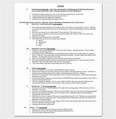 Auto Biography Outline Autobiography Outline Template 23 Examples And Formats
