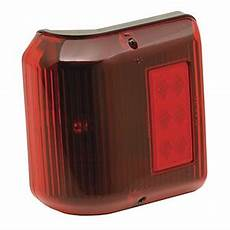Black Clearance Lights Clearance Light 86 Wrap Around Red W Black Base Marker