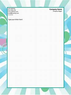 Ms Word Stationery 50 Free Letterhead Templates For Word Elegant Designs