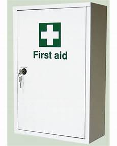 metal aid cabinet from aspli safety