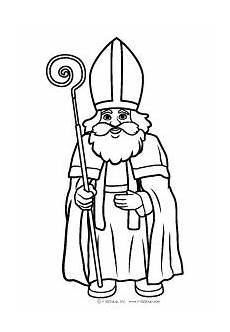 Ausmalbild Bischof Nikolaus Malvorlage Heiliger Nikolaus Coloring And Malvorlagan