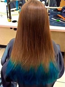 Dark Brown Hair Dip Dyed Light Brown 20 Dip Dye Hair Ideas Delight For All