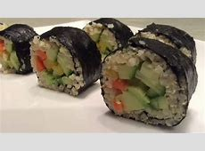 Easy Homemade Sushi Recipes   YouTube