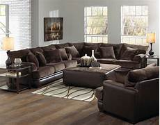 jackson barkley sectional sofa set chocolate jf 4442