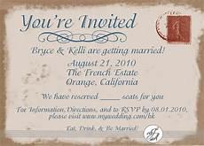 Invitation Postcard Template Postcard Wedding Invitation Template