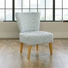 pattern accent chair contemporary thatch patterned 25 quot accent chair in blue