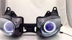 2007 Zx6r Light Kawasaki Ninja Zx6r Zx 6r Angel Eye Halo Eye Hid Projector