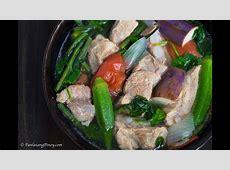 Pork Sinigang   How to Cook Sinigang Panlasang Pinoy