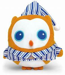 ok to owl is a cuddly friend that helps and