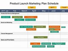 Product Launch Plan Product Launch Marketing Plan Schedule Example Of Ppt
