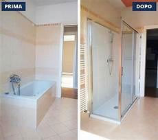 doccia al posto della vasca da bagno prezzi foto sostituzione vasca con doccia