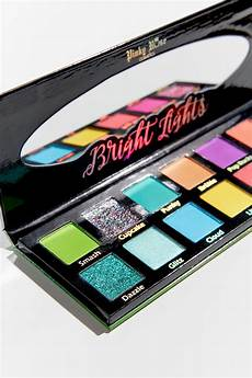 Rose Bright Lights Palette Review Rose Cosmetics Bright Lights Eyeshadow Palette