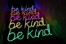 Alcohol Light Up Signs Ten Neon Be Kind Signs To Light Up The Uk People United