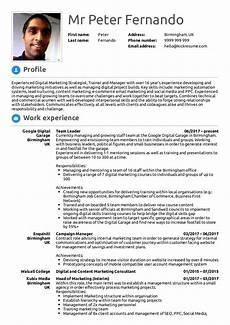 Cv For Team Leader Google Team Leader Resume Sample Kickresume