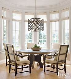 Breakfast Nook Light Fixture Transitional White Breakfast Nook With Patterned Pendant