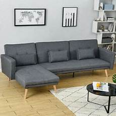 panana fabric corner sofa bed 3 4 seater recliner sofabed