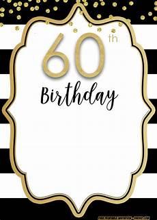 Free Printable 60th Birthday Invitations Templates Free Printable 60th Invitation Template Latest Design