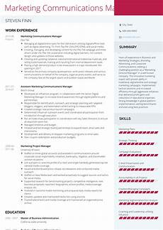 Communication Skills Cv Examples Communications Manager Resume Samples And Templates